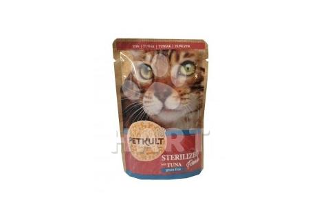 Petkult Cat kapsička Sterilised Tuna(tuňák)   100g