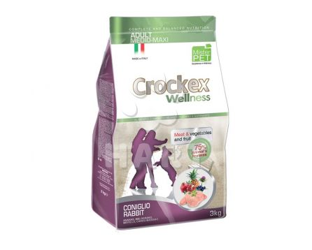 Crockex Adult Rabbit & Rice(králík s rýží)   12kg