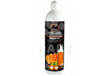Lososový olej FINE DOG  1000ML