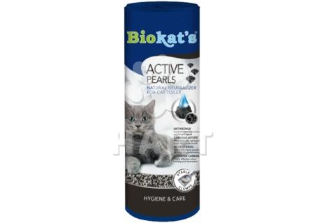 Pohlcovač pachu do toalet s aktivním uhlím Biokat´s Active Pearls 700ml