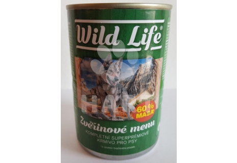 Konzerva Wild Life superpremium pate zvěřina  400g