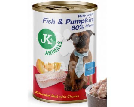 Rybí konzerva(94% masa a vývaru) s dýní(5% dýně) 400g