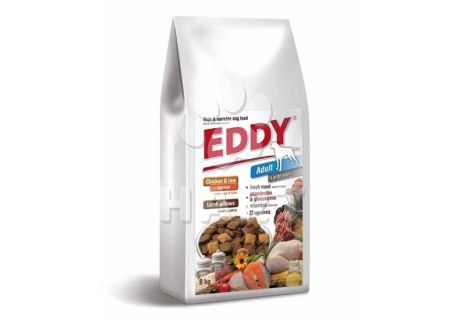 Eddy Dog Adult Large Breeds(2x8kg)   16kg