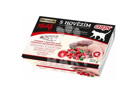 Chejn Micka vanička pro kočky hovězí  (95% masa)    325 g