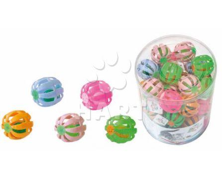 Balónek/míček  pro kočky s rolničkou 4 cm   1ks
