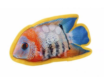 Odolná hračka, 3D tisk - Ryba Kančík vel.28x16cm