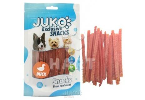 Pamlsky Snack Duck Strips 250g