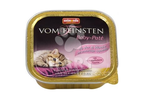 ANIMONDA paštika/vanička Baby pro koťata-Paté 100g