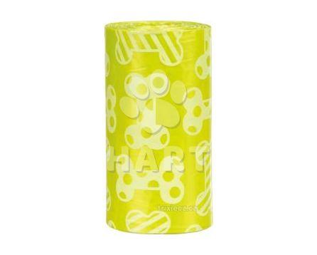 Hygienické sáčky na trus žluté s vůní citrónů(balení 4 role á 20ks)    1bal.