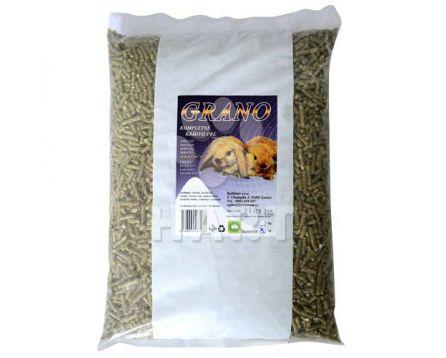 RABBITEX GRANO 1 kg kompletní granulované krmivo pro zakrslé králíky