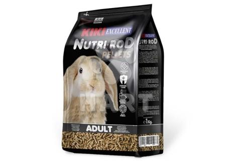 KIKI EXCELLENT NUTRI-ROD PELLETS 1kg pelety pro králíky