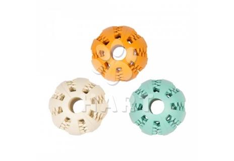 Míč DUVO+, gumový dentální míč s příchutí, vel.5cm