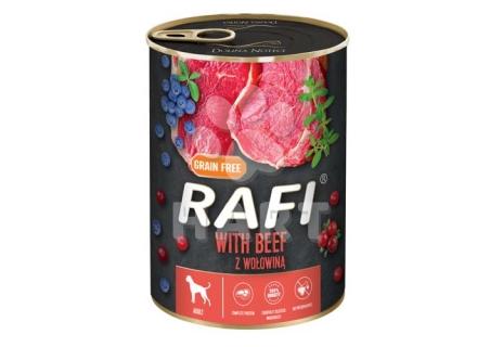 RAFI paštika s HOVĚZÍM  masem a borůvkami a brusinkami     400g