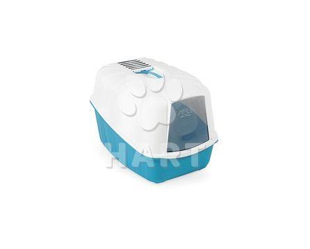 WC pro kočky - KOMODA kryté s filtrem a lopatkou, vel.54 x 39 x 40 cm