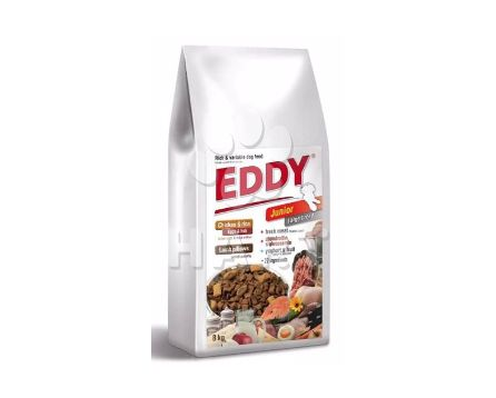 Eddy Dog Junior Large breeds (2x8kg)   16kg