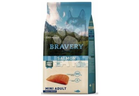Bravery Dog   ADULT  MINI  SALNON(losos)  2kg