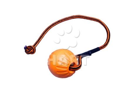 Míček FOAM se šňůrkou oranžový 7x48cm     1ks