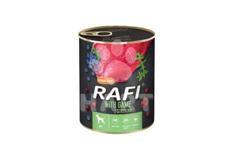 RAFI paštika se ZVĚŘINOU, borůvkami a brusinkami 800g