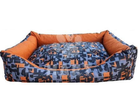Pelech  kanape ORANGE, vzor01, vel.125x95cm