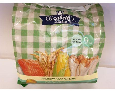 ELIZABETH'S KITCHEN adult FISH(s rybou) mix flavor  9kg